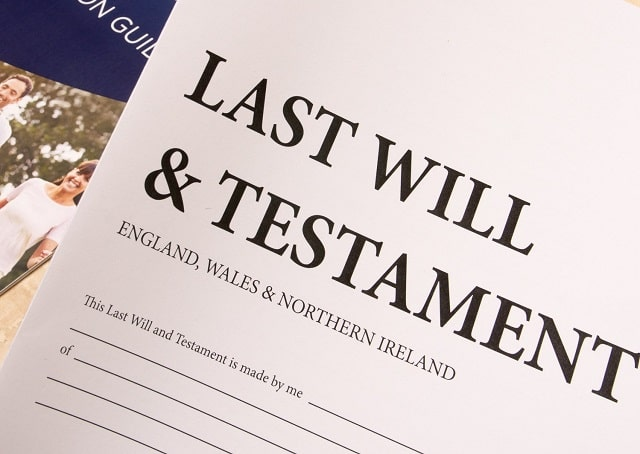 importance writing last will and testament estate planning outlines beneficiaries