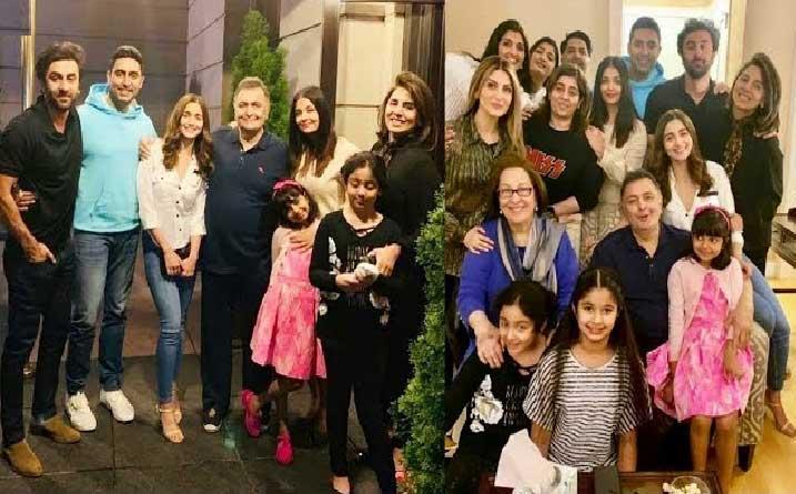 Bollywood Celebs Visit Rishi Kapoor