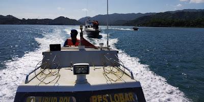 Sat Polairud Polres Lobar Siagakan Personel dan Perlengkapan SAR