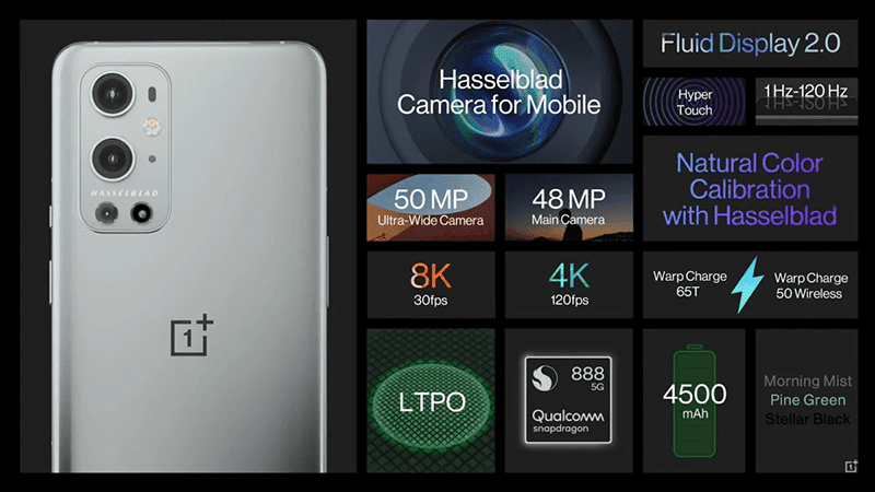 DxOMark: OnePlus 9 Pro's camera score is higher than iPhone 12 and S21 Ultra