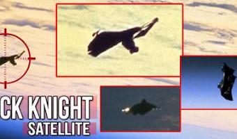 El milenario satélite caballero negro que nos vigila