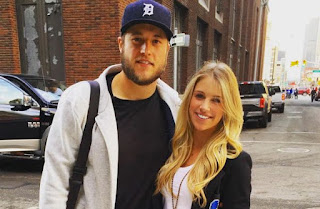 Matthew Stafford Wife Kelly Hall How The Relationship Started