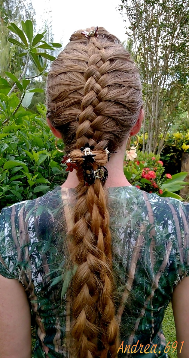Braids & Hairstyles for Super Long Hair: At the end of the