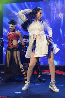 Sunny Leone Dancing on stage At Rogue Movie Audio Music Launch ~  029.JPG