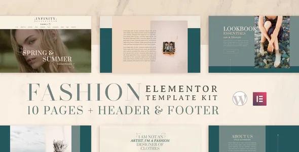 Best Fashion WooCommerce Elementor Template Kit