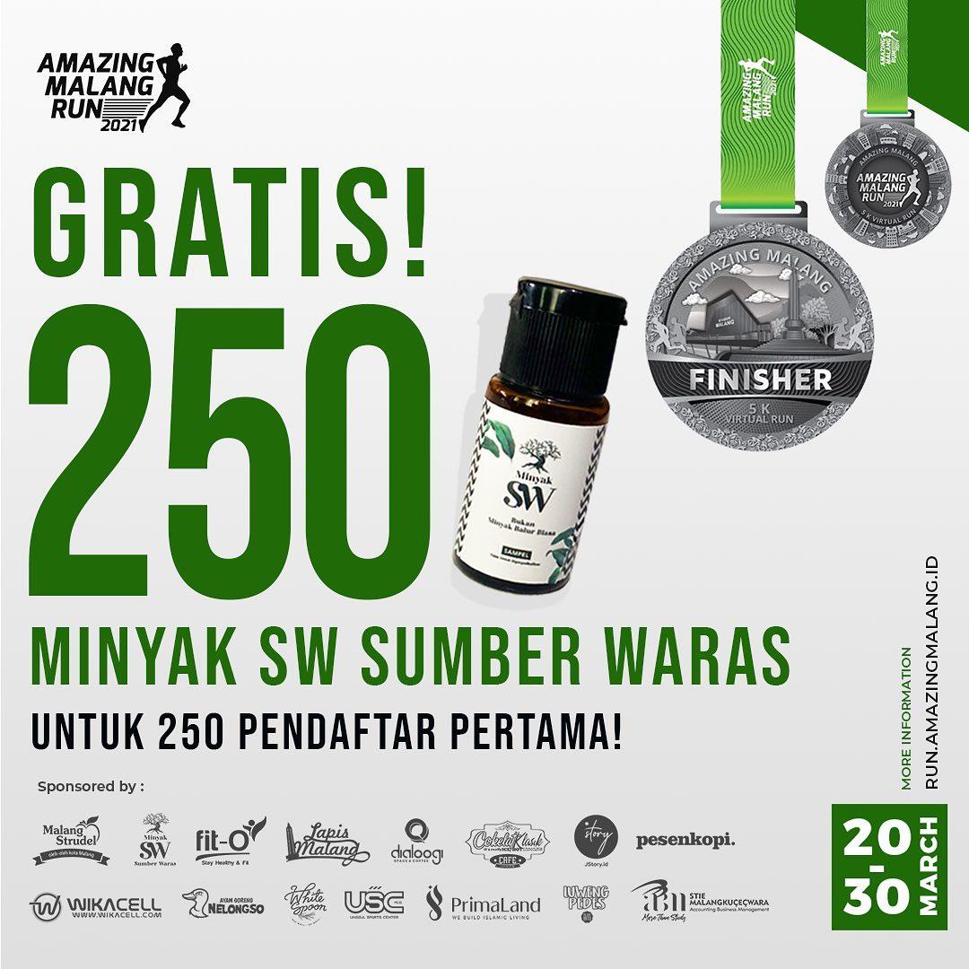 Minyak balur 💧 Amazing Malang Run • 2021