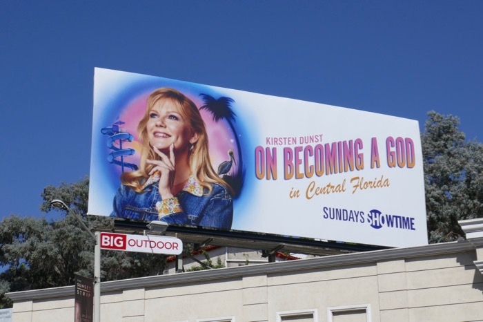 Kirsten Dunst On Becoming a God in Central Florida billboard