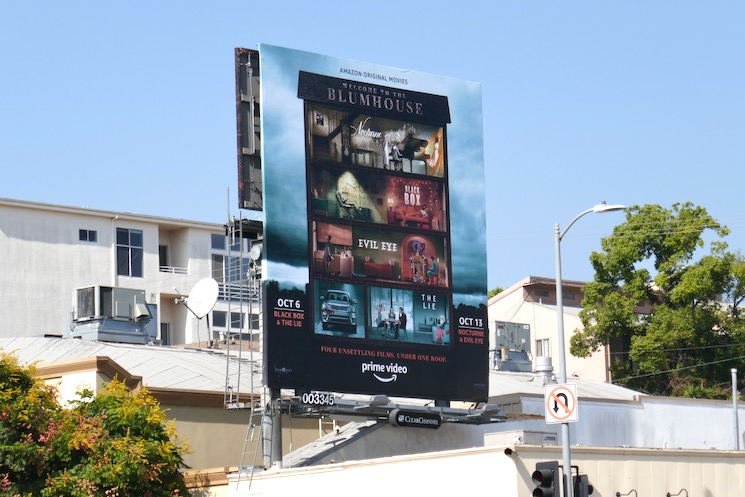Welcome to the Blumhouse billboard