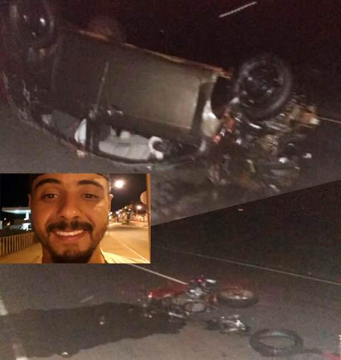 Motociclista morre após grave acidente na BA-148 entre Livramento e Dom Basílio