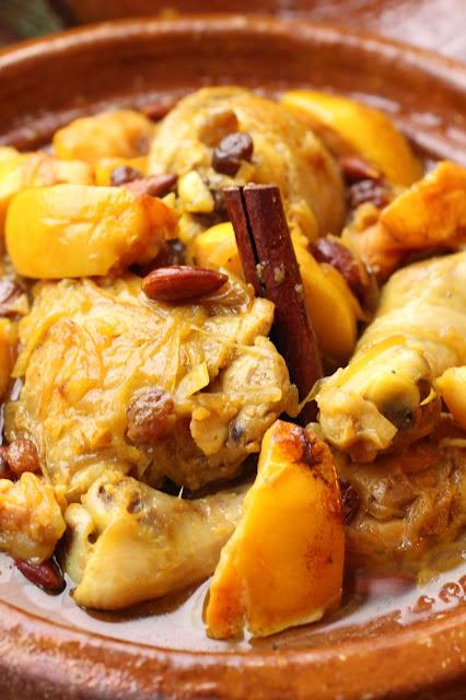 tajine de poulet d'automne