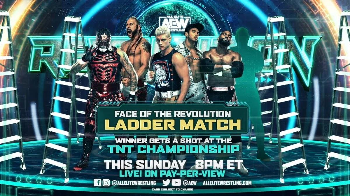 Possível 6° participante da Face of the Revolution Ladder Match