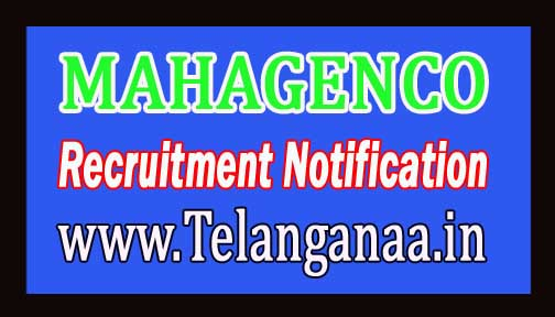 Maharashtra State Power Generation Company Limited MAHAGENCO Recruitment Notification 2016