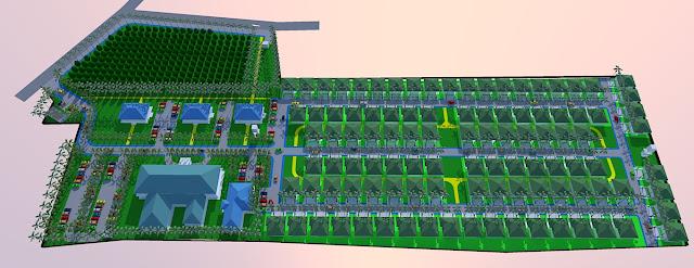 Site Plan Panti Jompo