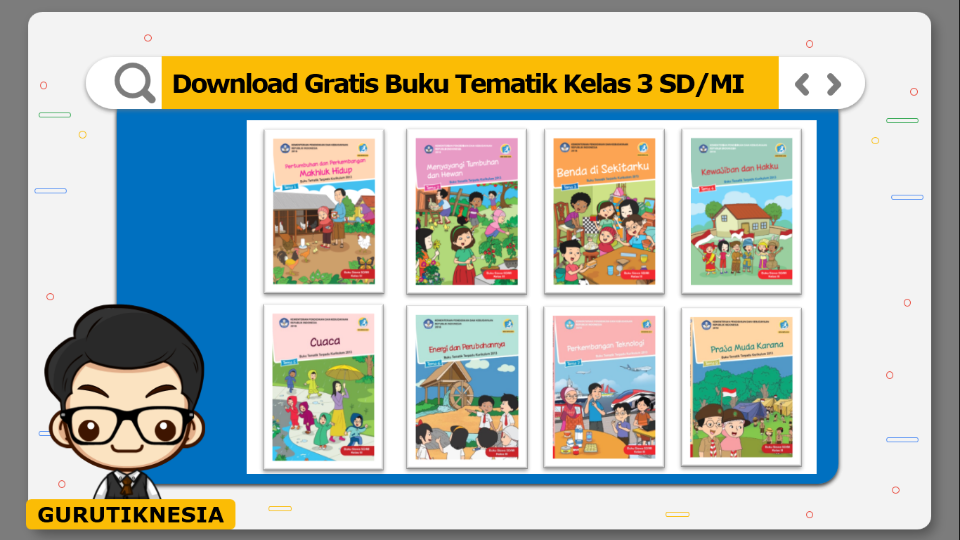 download gratis buku tematik kelas 3 sd/mi