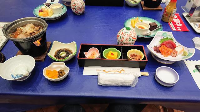宮城県仙台市 作並温泉 La楽リゾートホテルグリーングリーン 夕食