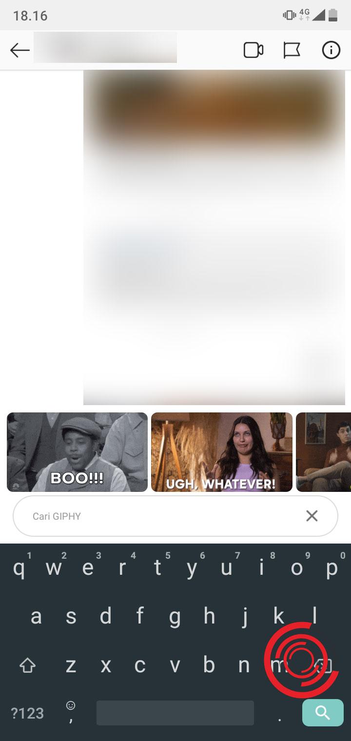 Cara Mengirim GIF di DM Instagram - KEPOINDONESIA