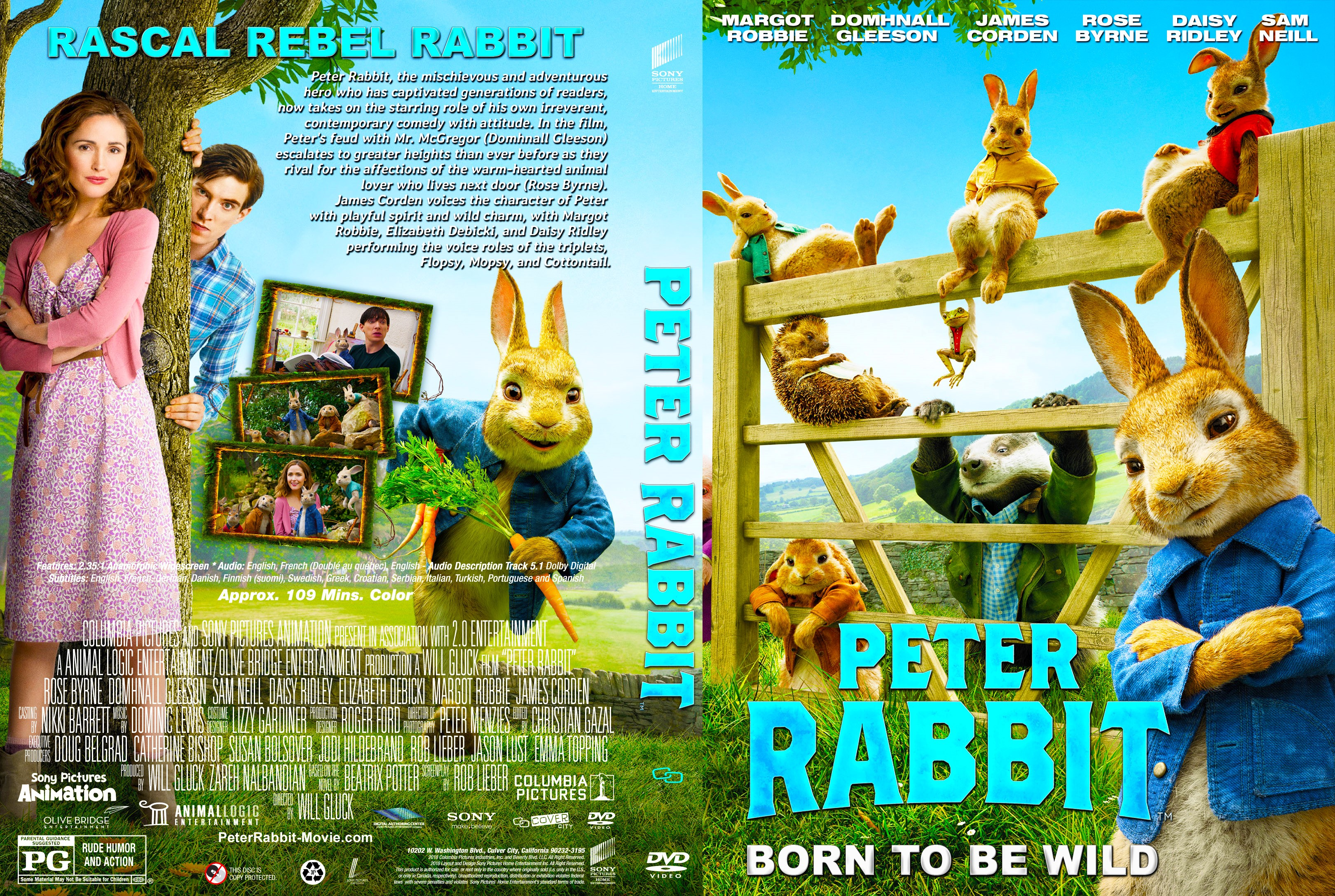 peter rabbit dvd cover cover addict dvd bluray covers and movie rh cover addict com home again dvd cover home alone 2 dvd cover