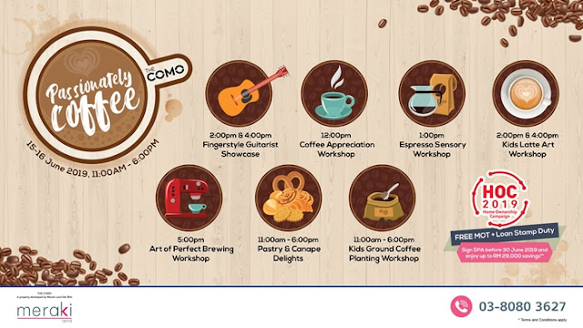 Passionately Coffee, The COMO Bukit Jalil KL, The COMO, Bukit Jalil, Coffee Workshop, Property, Lifestyle