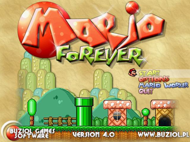 شرح وتحميل لعبة ماريو فور ايفر الاصدار الاخير برابط مباشر Download Super Mario Forever 2015