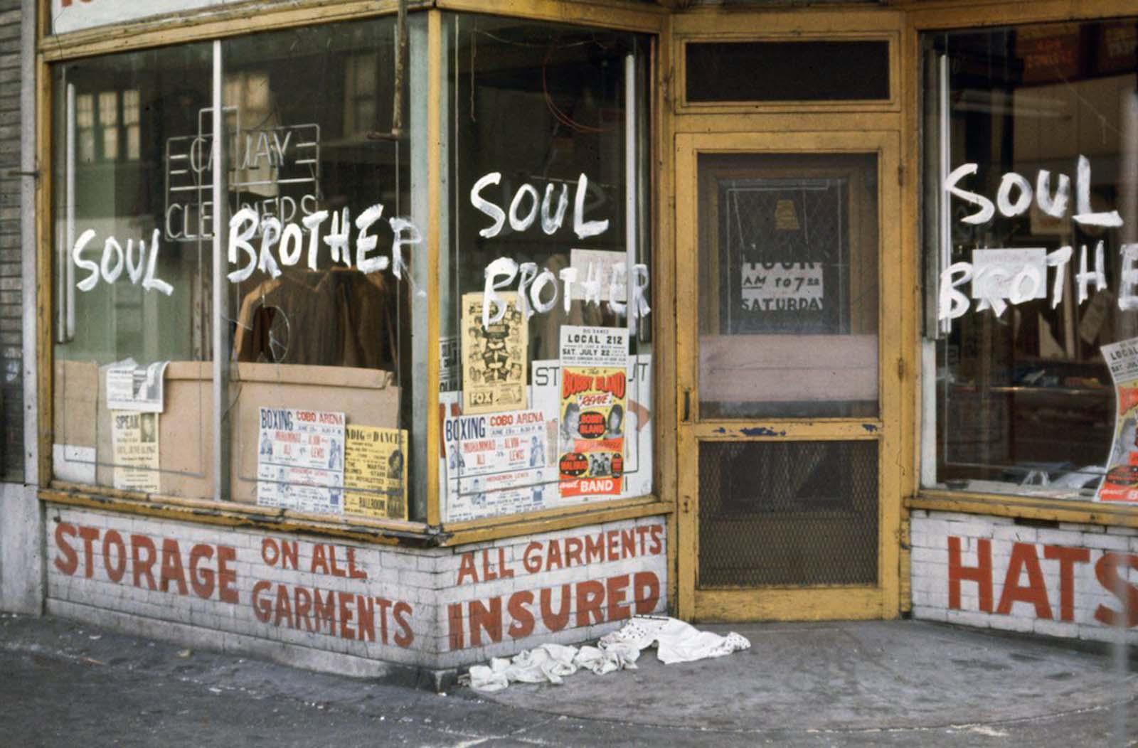 Detroit Riot en imágenes, 1967