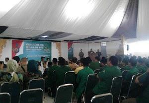 Konferwil XVI GP Ansor Jawa Barat di Sumedang Berlangsung Meriah
