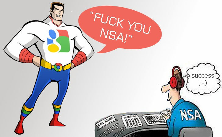 Google engineers over surveillance scandal: 'Fuck you NSA'