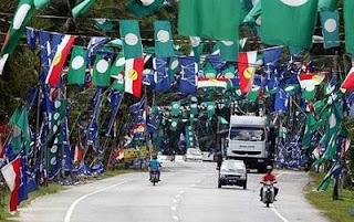 PRU14: Menang Bendera Kalah Pilihan Raya