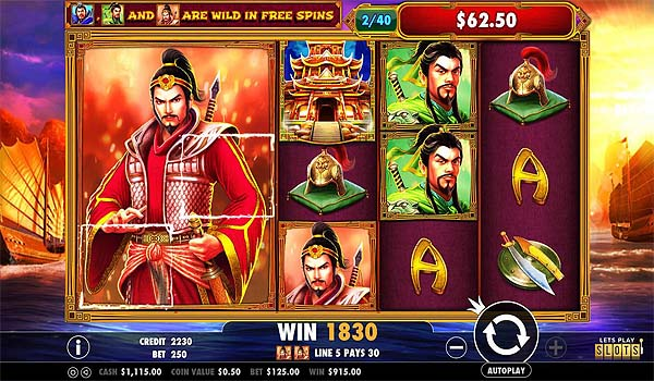 Main Gratis Slot Indonesia - 3 Kingdoms Battle of Red Cliffs (Pragmatic Play)