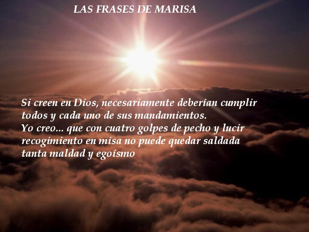 Las Frases de Marisa GOLPES DE PECHO