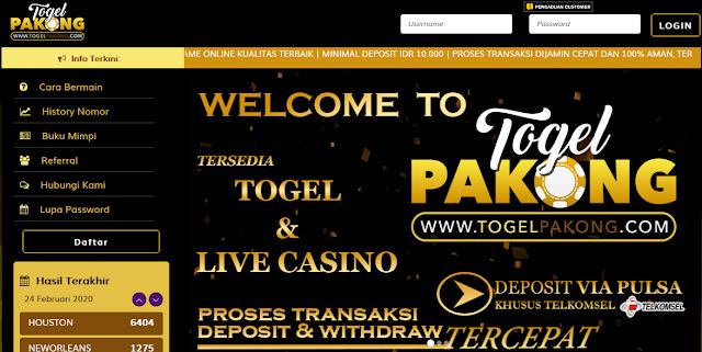 Bandar Judi Togel Online Bisa Dapat Bonus Jackpot Terbesar
