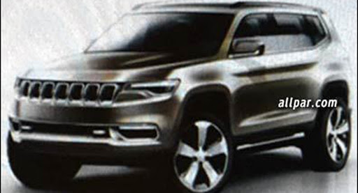 Do These Jeep Images Preview A Lengthened Cherokee-Based Model?