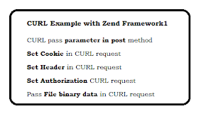 CURL Example with Zend Framework1