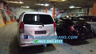 Pengiriman Mobil Daihatsu Xenia dari Jakarta tujuan ke Banjarmasin dengan kapal roro, estimasi perjalanan 4-5 hari..