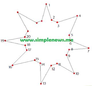 Hubungkanlah bilangan-bilangan berikut secara berurutan www.simplenews.me