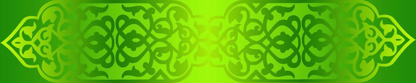 background hijau islami ramadhan