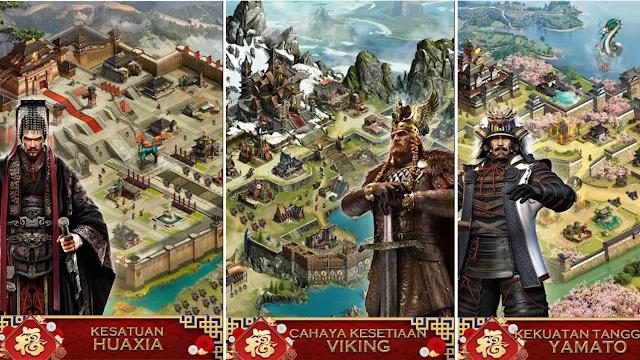 Saran 6 Game Strategi Android MMO RTS Jaman-jaman Kerajaan