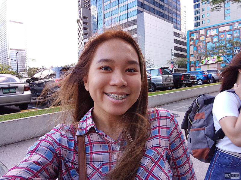Outdoor selfie