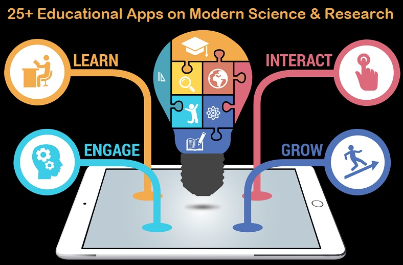 Educational Apps on Modern Science and Research Learning