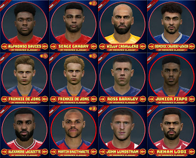 PES 2017 Facepack March 2020 by M.Elaraby