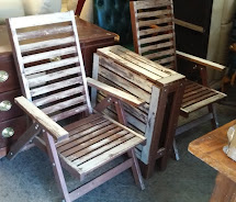 Uhuru Furniture & Collectibles Sold Weathered Teak Patio