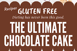 The Ultimate Chocolate Cake Gluten free #glutenfree