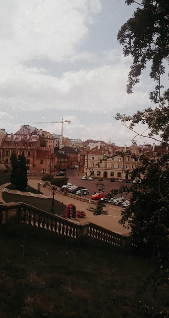 Lublin, Stare Miasto, retro, kamienice