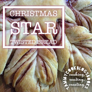 Christmas Star Twisted Bread RecipeReview #TasteOfHomeTuesday