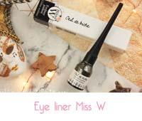 eye liner pailleté  Miss W