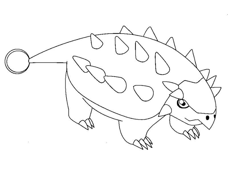 Desenho Para Colorir Dinossauro Rex
