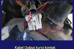 Kabel (Output Kunci Kontak) Honda Beat Injeksi 2016