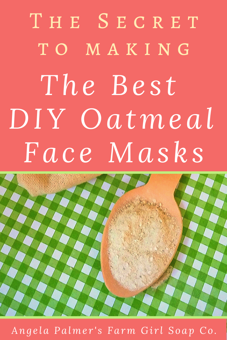 Want to know the secret to making the best DIY oatmeal face mask recipes? Try this ONE simple tip to immediately give your DIY oatmeal face mask recipes pro-quality, better-than-store-bought results. P.S. It also is great for handmade oatmeal soap and DIY bath soaks too!