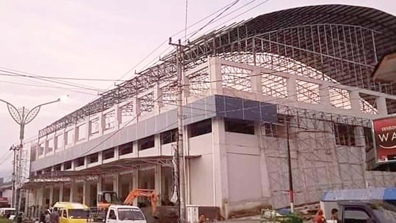 Pasar Randudongkal Ditutup 2 Hari Para Pedagang Pindah Ke Terminal Baru Randudongkal