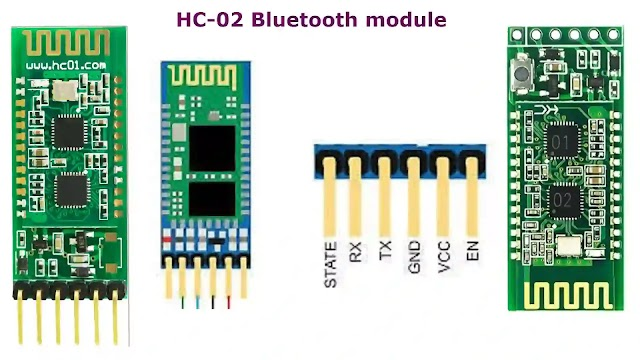 HC-02 Bluetooth module pin out, Applications.