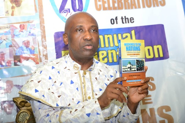 Primate Ayodele Sets World Record, Launches Compendium Of 10,000 Fulfilled Prophecies